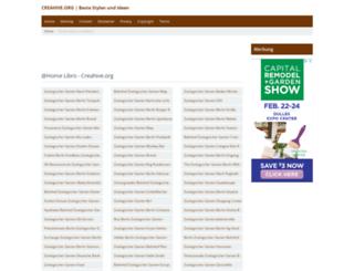 creahive.org screenshot