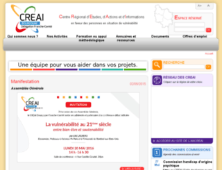 creaibourgogne.org screenshot