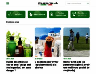 creapharma.ch screenshot