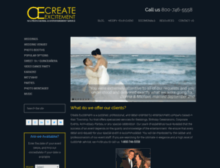 createexcitement.com screenshot