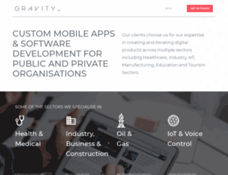 creategravity.com screenshot