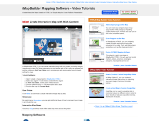 createhtml5map.com screenshot
