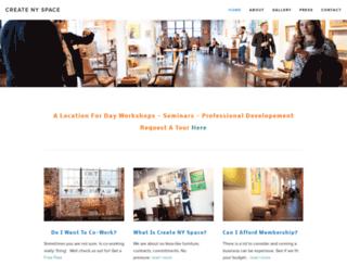 createnyspace.com screenshot