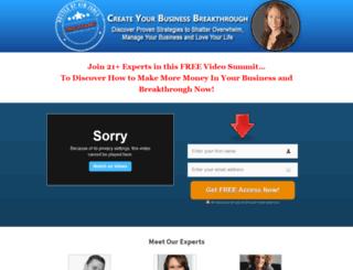 createyourbusinessbreakthrough.com screenshot