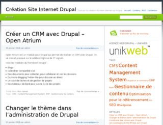 creation-site-internet-drupal.com screenshot