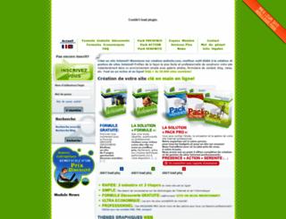 creation-website.com screenshot