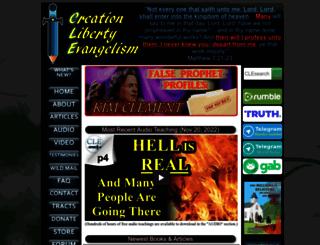 creationliberty.com screenshot