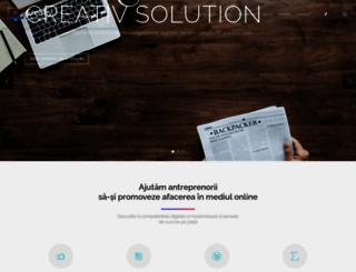 creativ-solution.eu screenshot