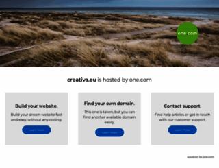 creativa.eu screenshot