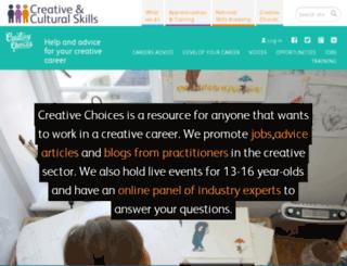 creative-choices.co.uk screenshot