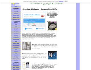 creative-gift-ideas.com screenshot