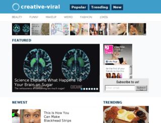 creative-viral.com screenshot