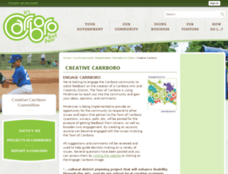 creativecarrboro.com screenshot