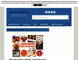 creativefamilyfun.net screenshot