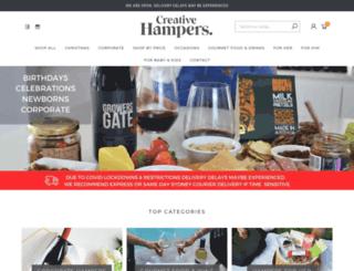 creativehampers.com.au screenshot