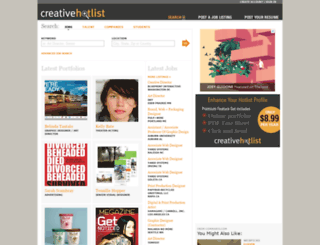 creativehotlist.com screenshot