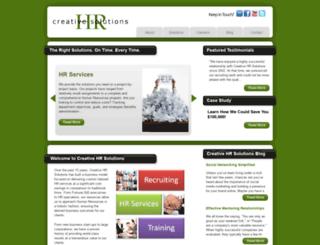 creativehrsolutions.com screenshot