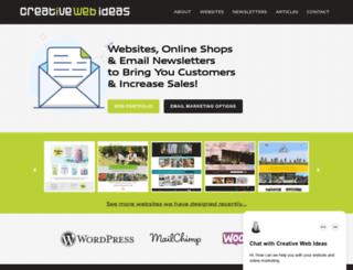 creativeideas.co.nz screenshot