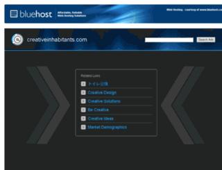 creativeinhabitants.com screenshot