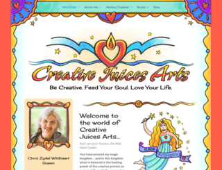 creativejuicesarts.com screenshot