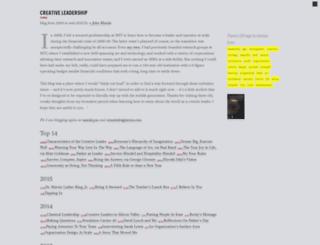creativeleadership.com screenshot