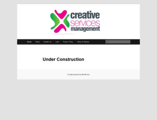 creativemanagementservices.eu screenshot