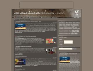 creativeobserver.com screenshot