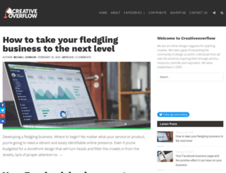 creativeoverflow.net screenshot