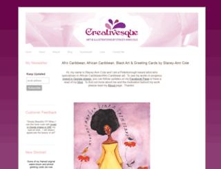 creativesque.co.uk screenshot