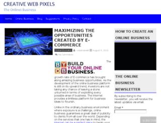 creativewebpixels.com screenshot