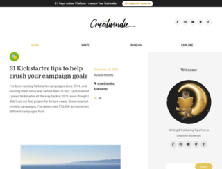 creativindie.com screenshot