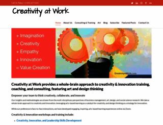 creativityatwork.com screenshot