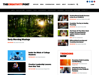 creativitypost.com screenshot