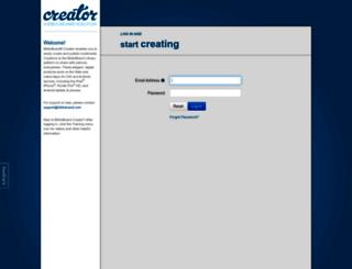 creator.biblioboard.com screenshot