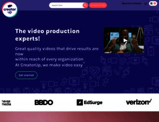 creatorup.com screenshot