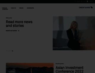 credit-suisse.com screenshot