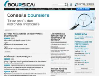 credit.boursica.com screenshot