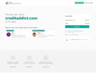 creditaddict.com screenshot
