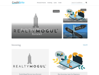 creditbrite.com screenshot