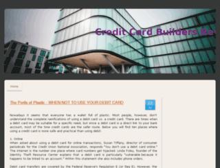 creditcardbuildersreviews.jimdo.com screenshot