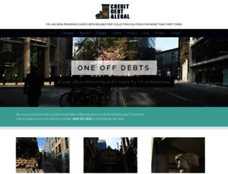 creditdebtlegal.co.uk screenshot