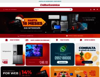 creditoseconomicos.com screenshot