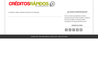 creditosrapidos.org screenshot