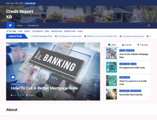 creditreportkb.com screenshot