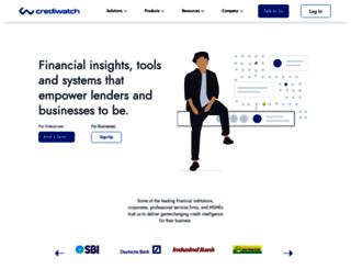 crediwatch.com screenshot
