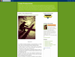 credoproducciones.blogspot.com screenshot