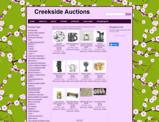 creeksideauctions.com screenshot