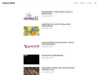 creeva.com screenshot