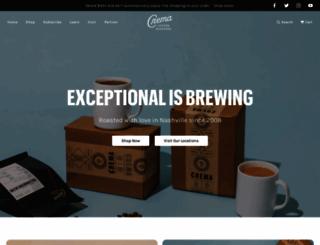 crema-coffee.com screenshot