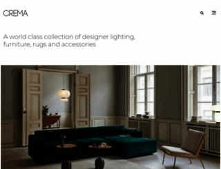 cremadesign.co.za screenshot